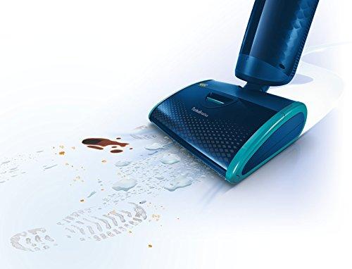 Matschfüße werden einfach weggesaugt - Dank Aquatrio FC7080